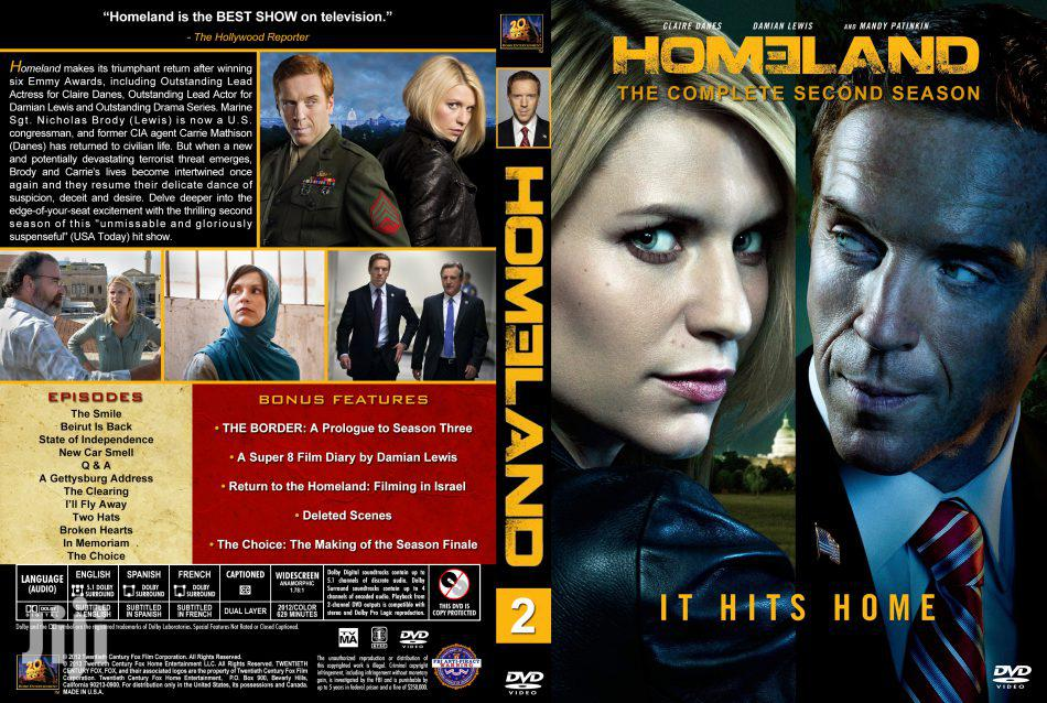 Homeland | Complete Season (1-8) 720p HDTV |Drama TV Show | CDs & DVDs for sale in Kumasi Metropolitan, Ashanti, Ghana