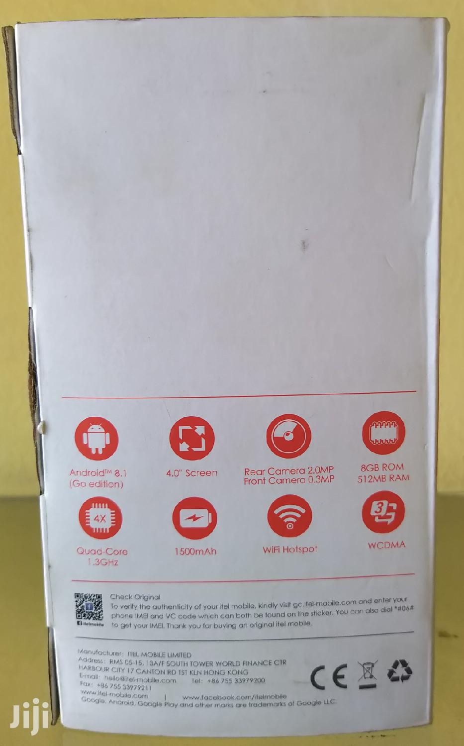 New Itel A14 8 GB Gold | Mobile Phones for sale in Bubuashie, Greater Accra, Ghana