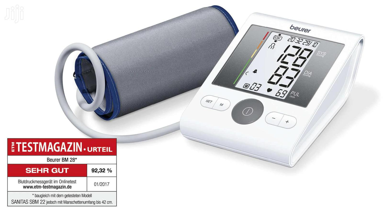Beurer BM 28 Upper Arm Blood Pressure Monitor   Tools & Accessories for sale in Tema Metropolitan, Greater Accra, Ghana