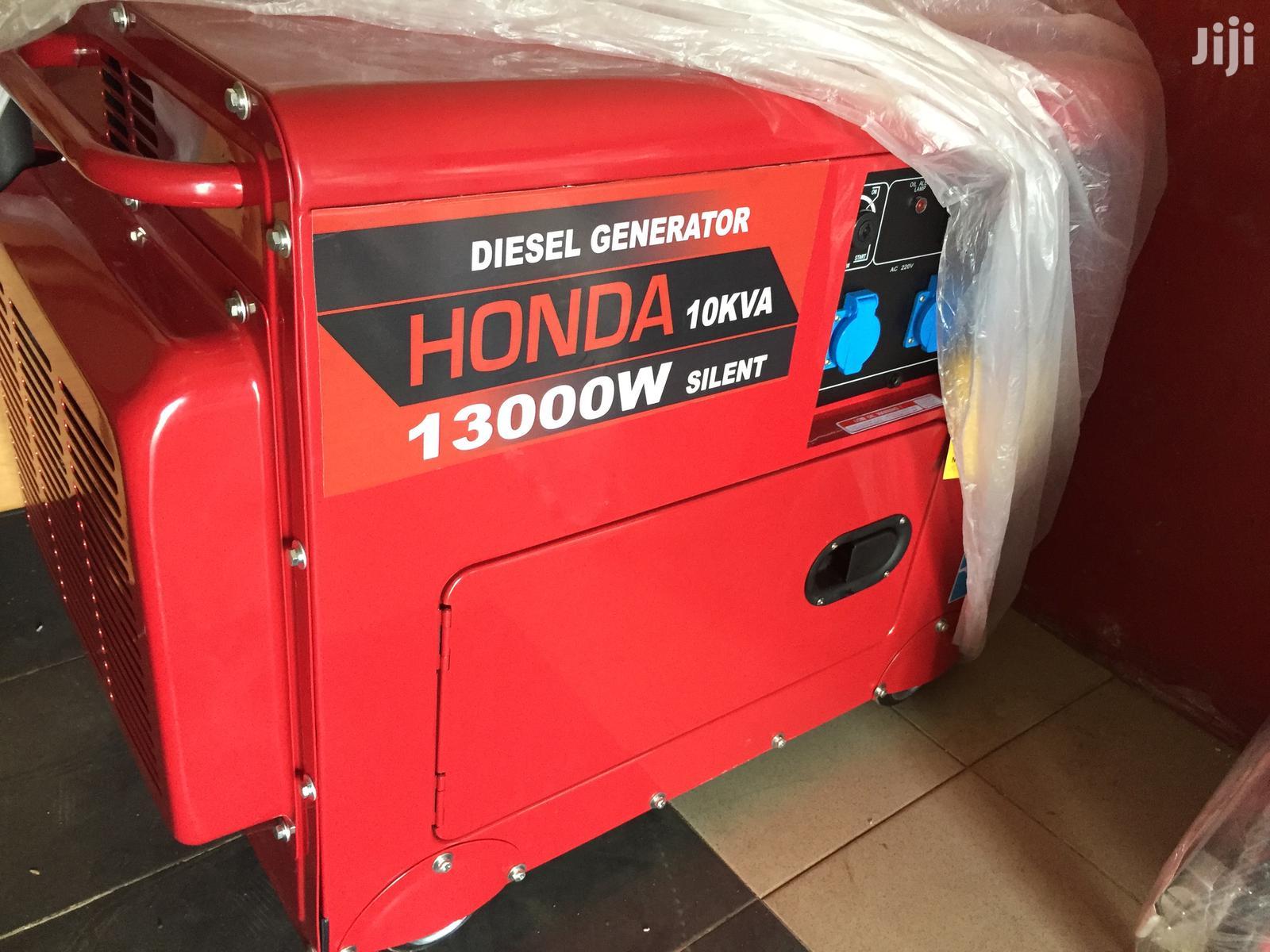 New Honda 10kva Diesel Generator Silent
