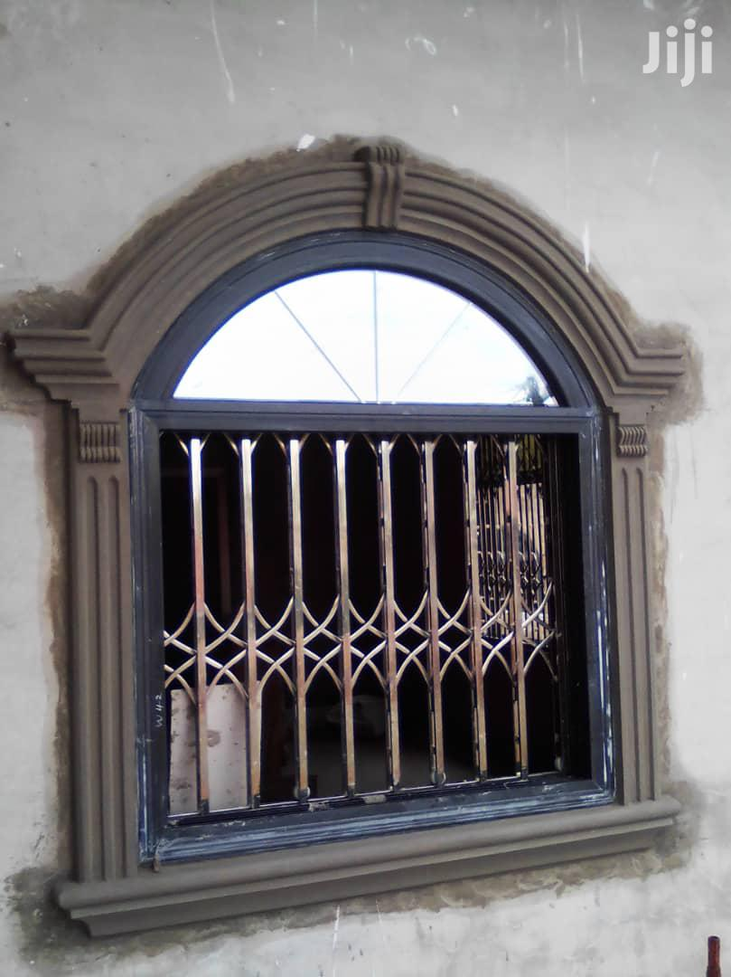 Italian Sliding Windows Frame Well Installed | Windows for sale in Achimota, Greater Accra, Ghana