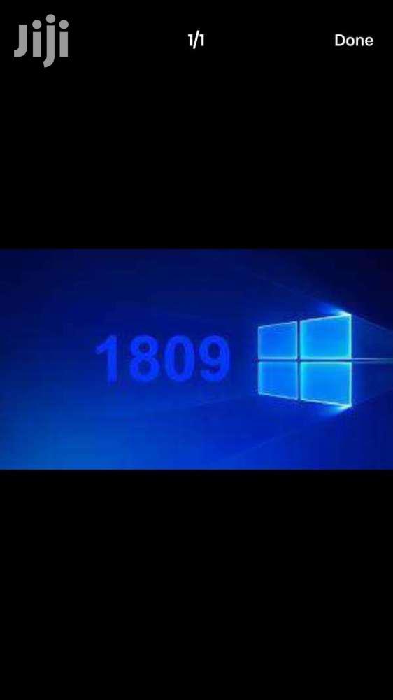 Archive: Windows 10 1809 Version