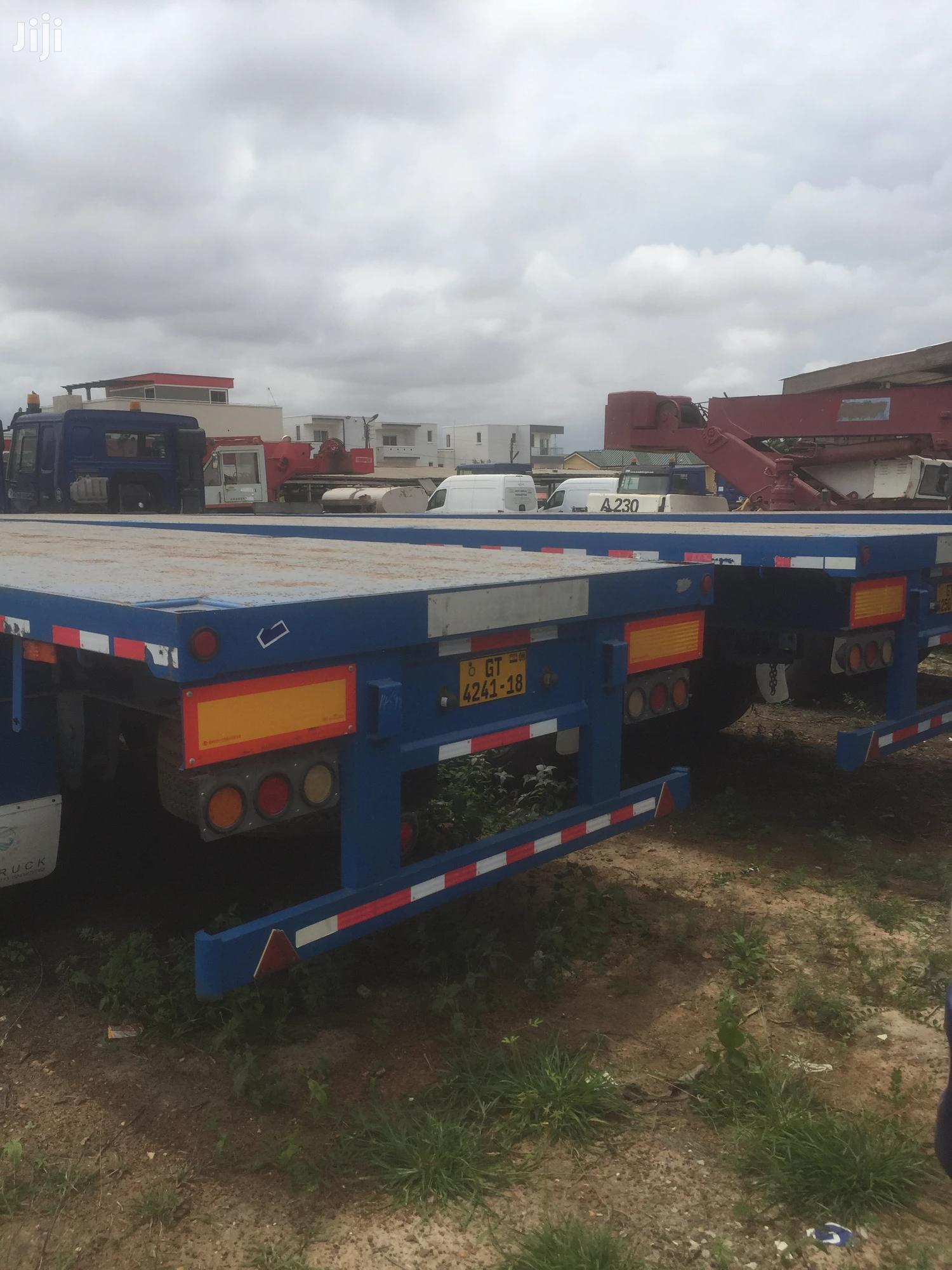 Howo Full Trailer With Head For Sale | Trucks & Trailers for sale in Teshie new Town, Greater Accra, Ghana