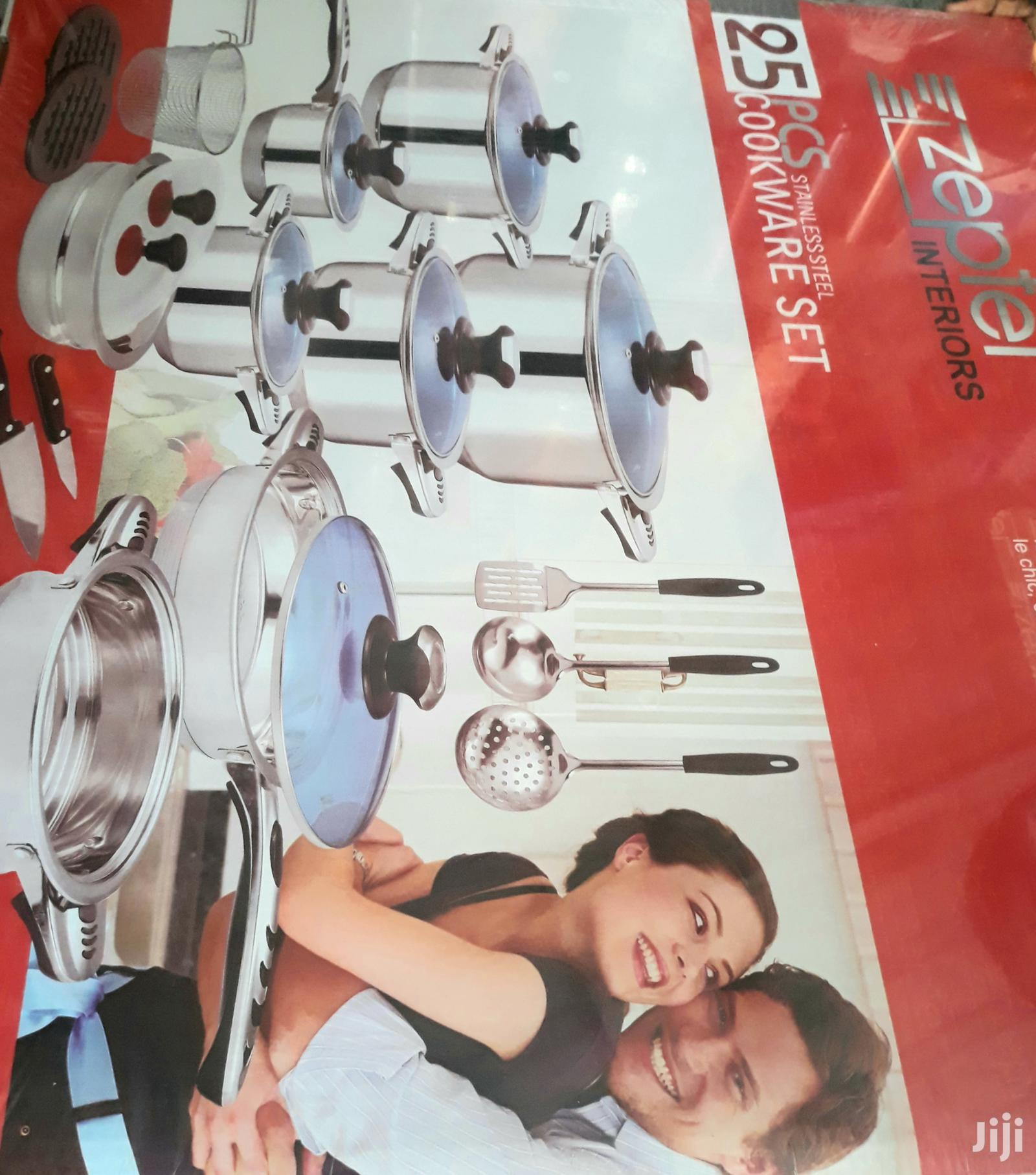 Stainless Steel 25pcs Cooking Set