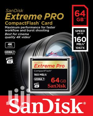 Sandisk 64GB CF Digital Camera Memory Cards
