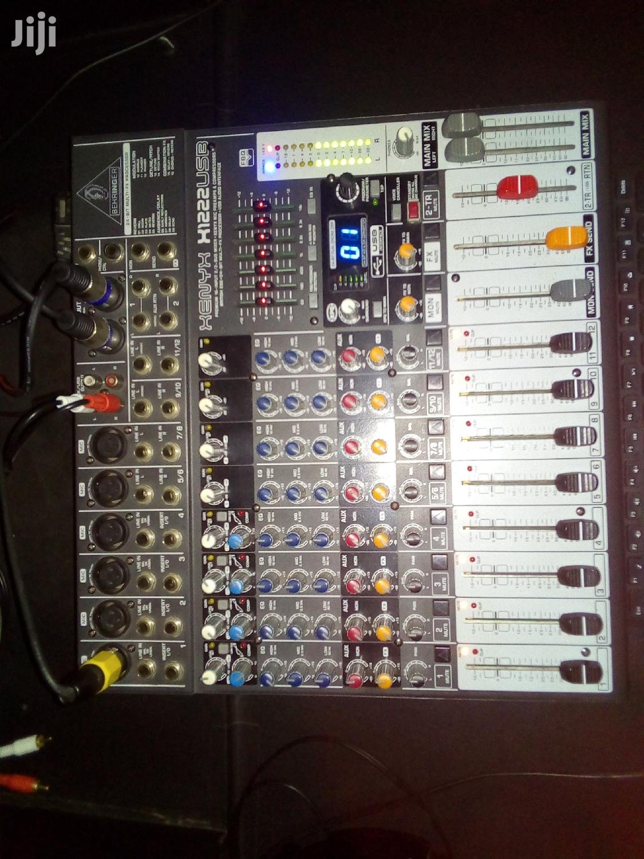 Studio Mixer Board