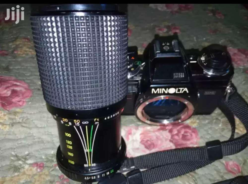 Minolta X-700 35mm SLR FILM CAMERAWith PROMASTER Multi Coated Lens | Accessories & Supplies for Electronics for sale in Adenta Municipal, Greater Accra, Ghana