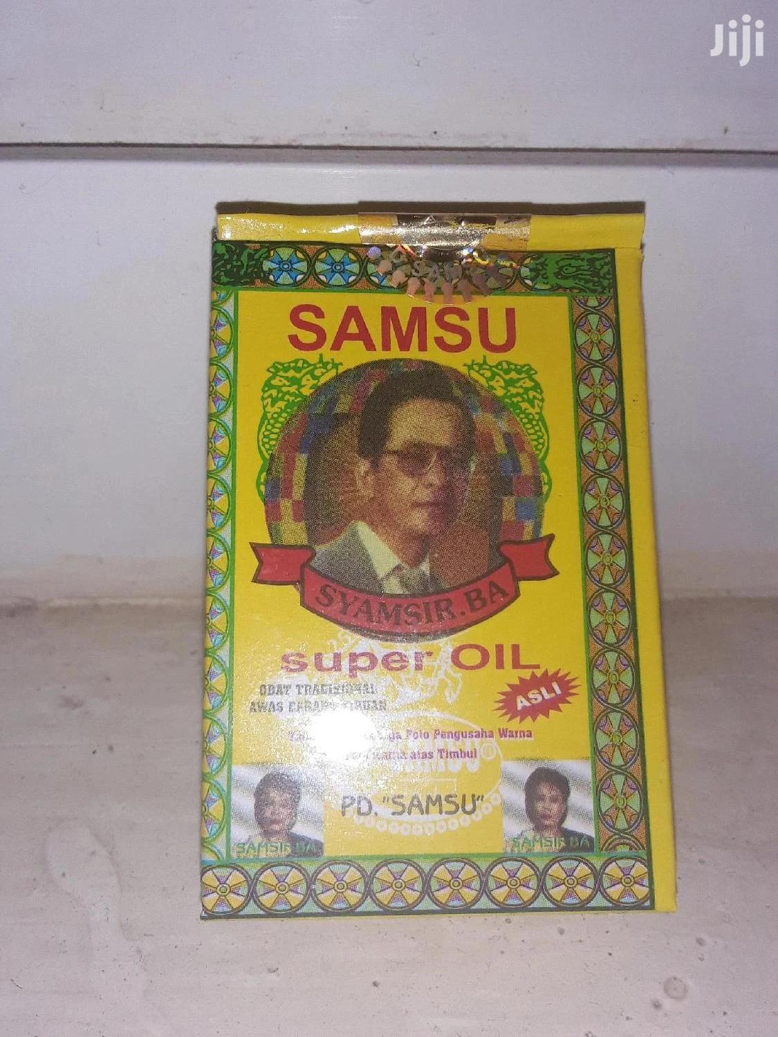 "Samsu Oil ""Reduced"" Free Delivery 