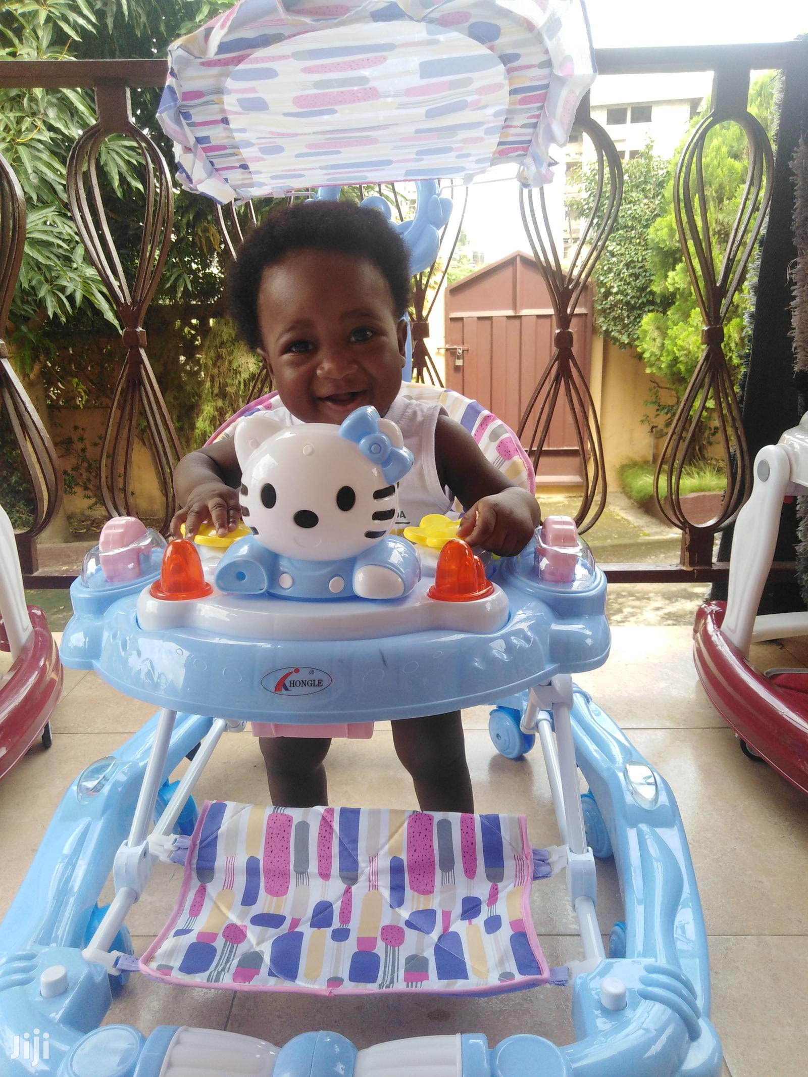 2 In 1 Baby Walker And Rocker | Children's Gear & Safety for sale in Ga East Municipal, Greater Accra, Ghana