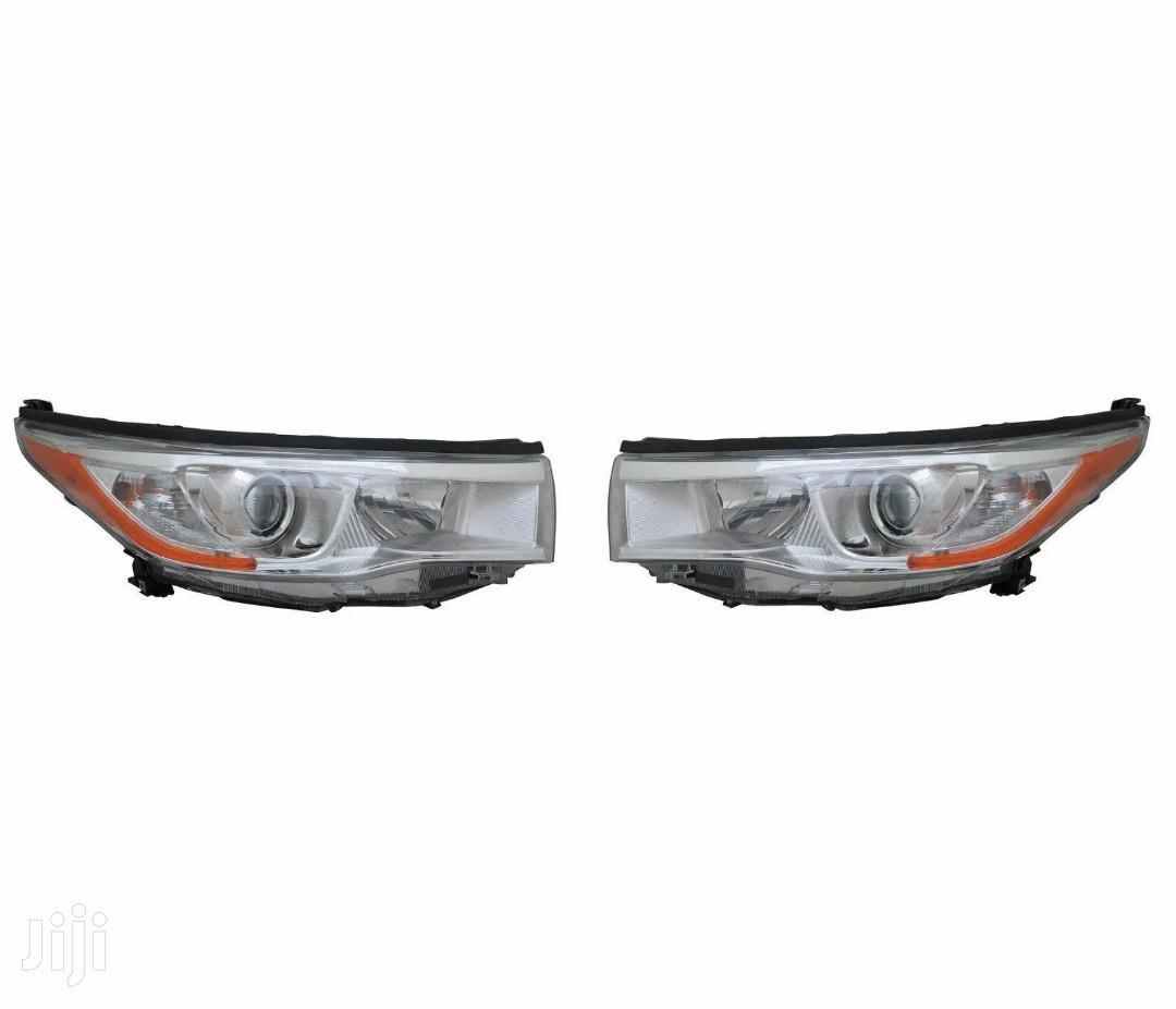 Toyota Hilux 2014-2016 Headlight Pair