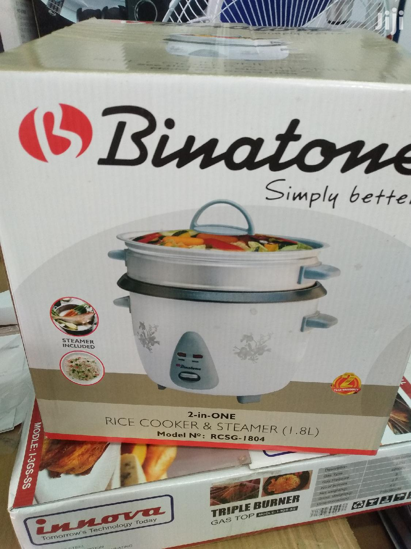 Binatone 2in 1 Rice Cooker   Kitchen Appliances for sale in Accra Metropolitan, Greater Accra, Ghana