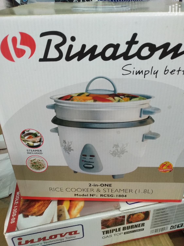 Binatone 2in 1 Rice Cooker