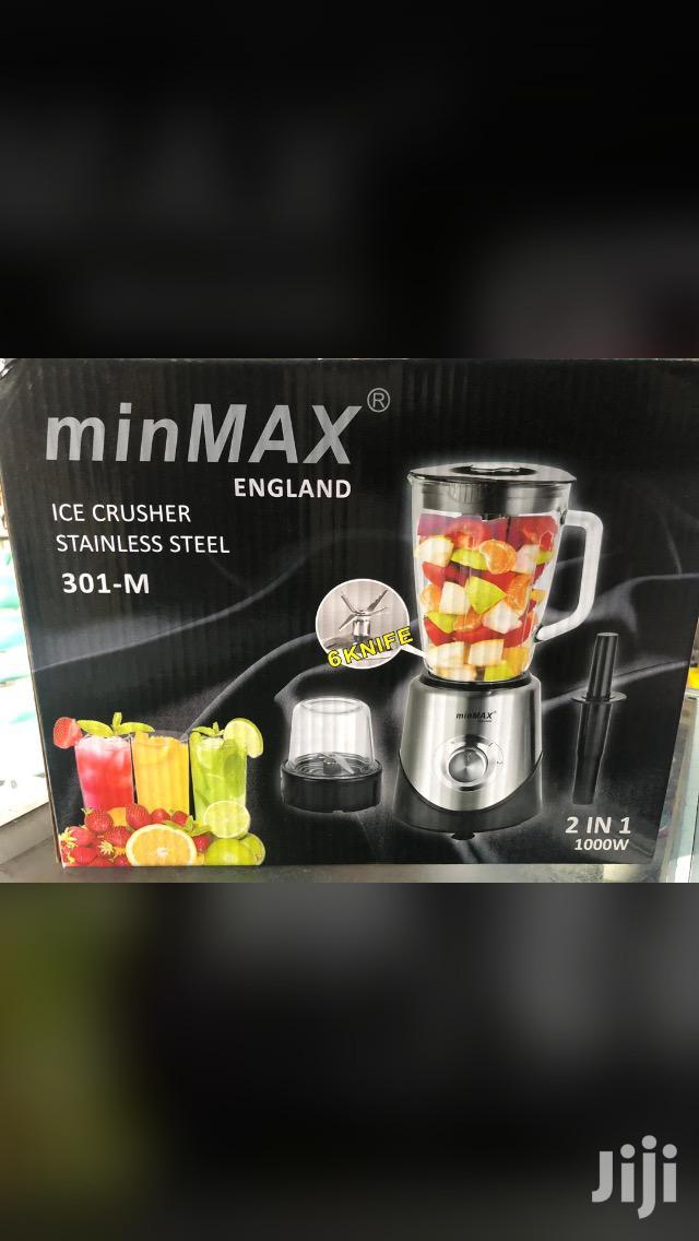 Minimax Glass Blender With Stir