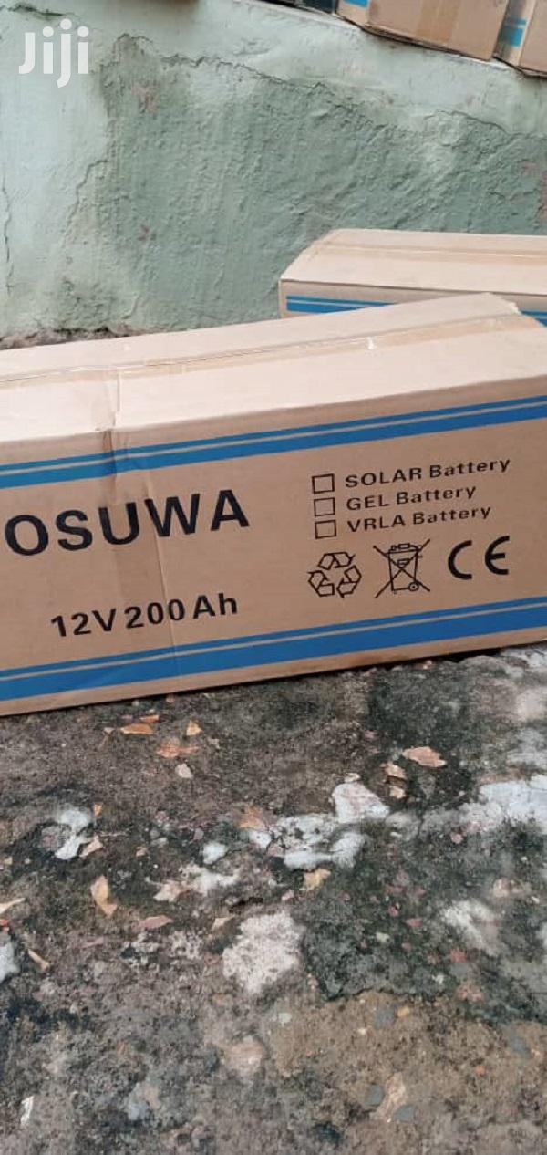 12V 200ah Deep Cycle Solar Battery