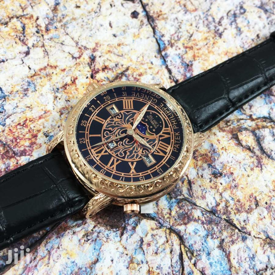 PATEK PHILIPPE Geneve - Black   Watches for sale in Achimota, Greater Accra, Ghana