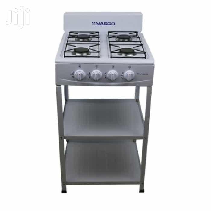 Nasco NASGS-K4ASS-S 4burner Gas Stove With Stand
