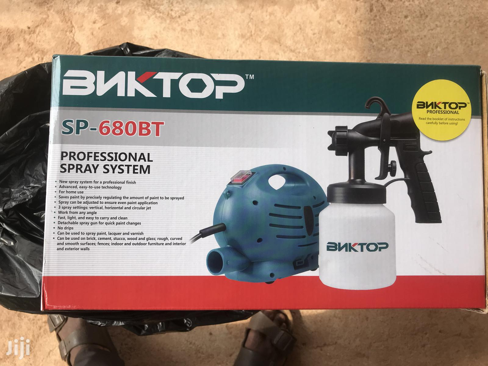 Bnktop Electronic Spray Machine From Russia