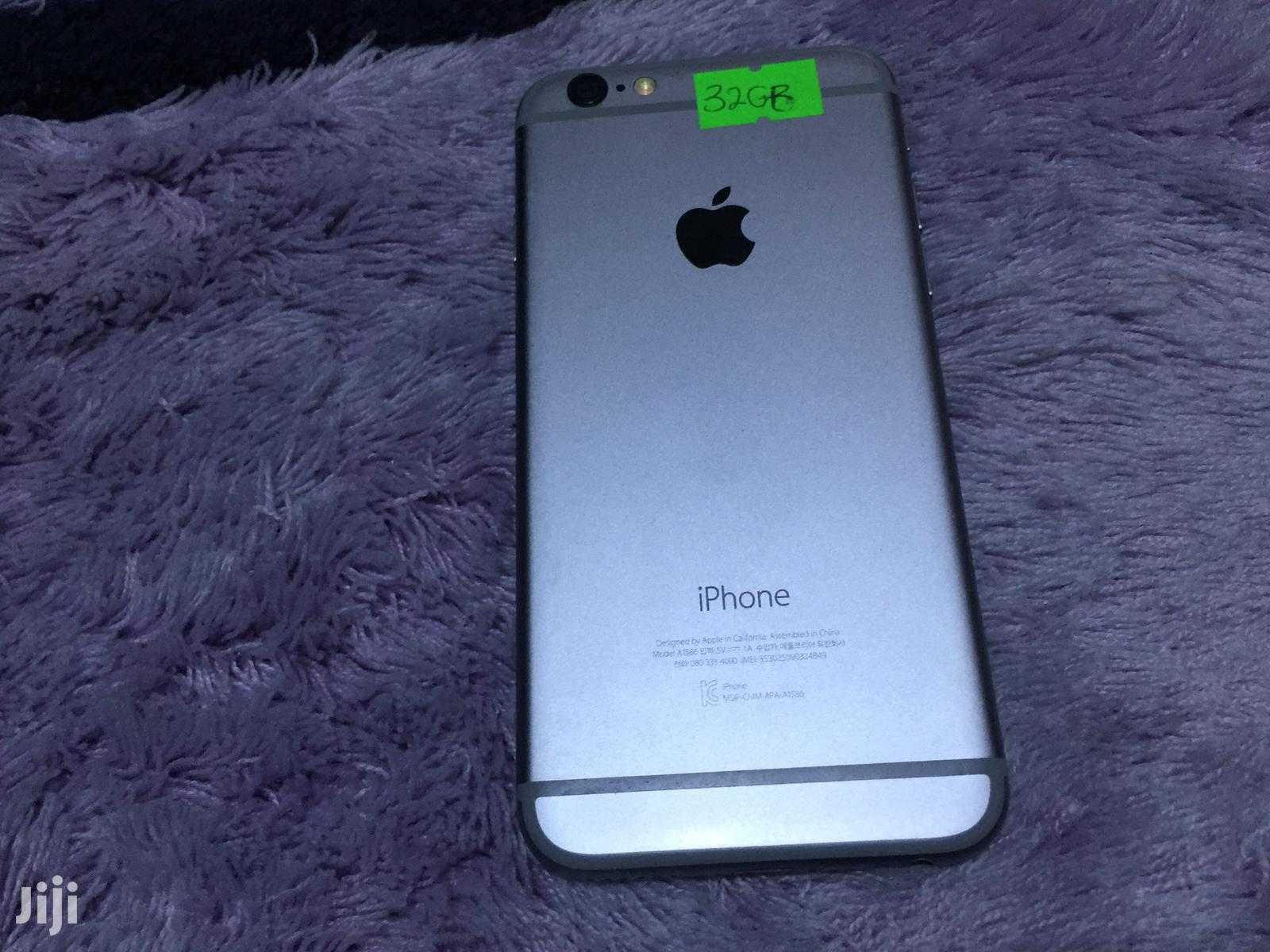 Apple iPhone 6 32 GB Gray | Mobile Phones for sale in Kwashieman, Greater Accra, Ghana