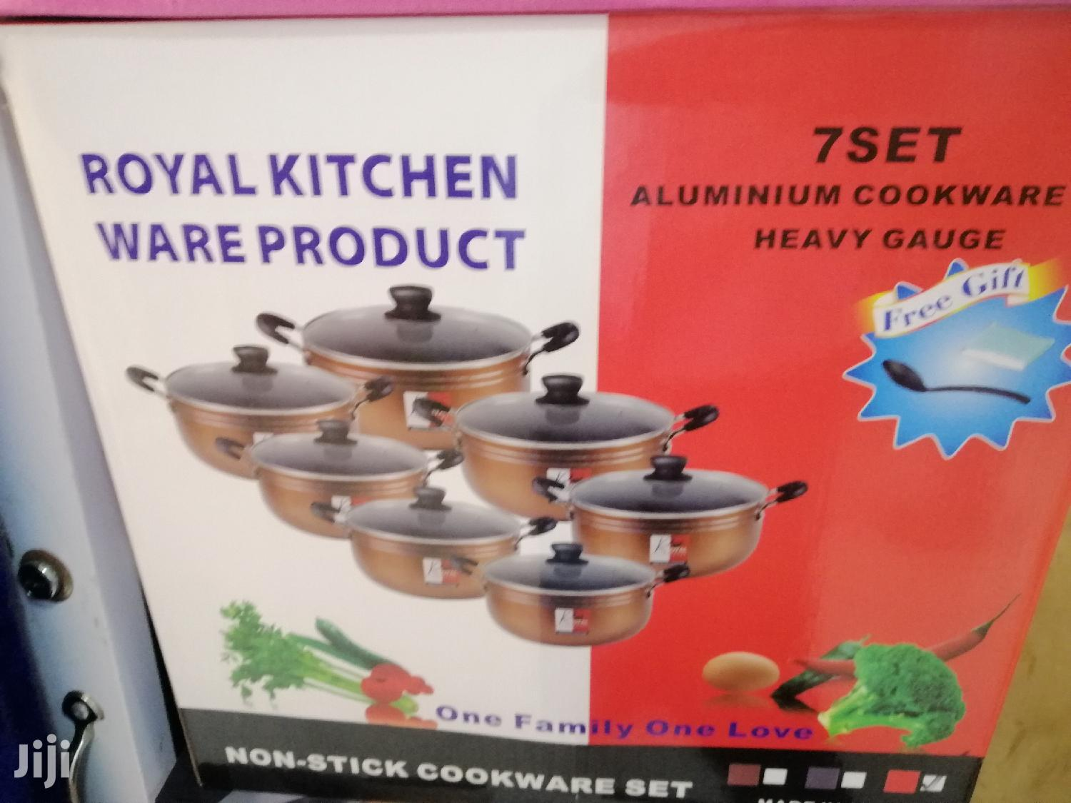 Royal Kitchen Non Stick Cooking Set | Kitchen & Dining for sale in Achimota, Greater Accra, Ghana