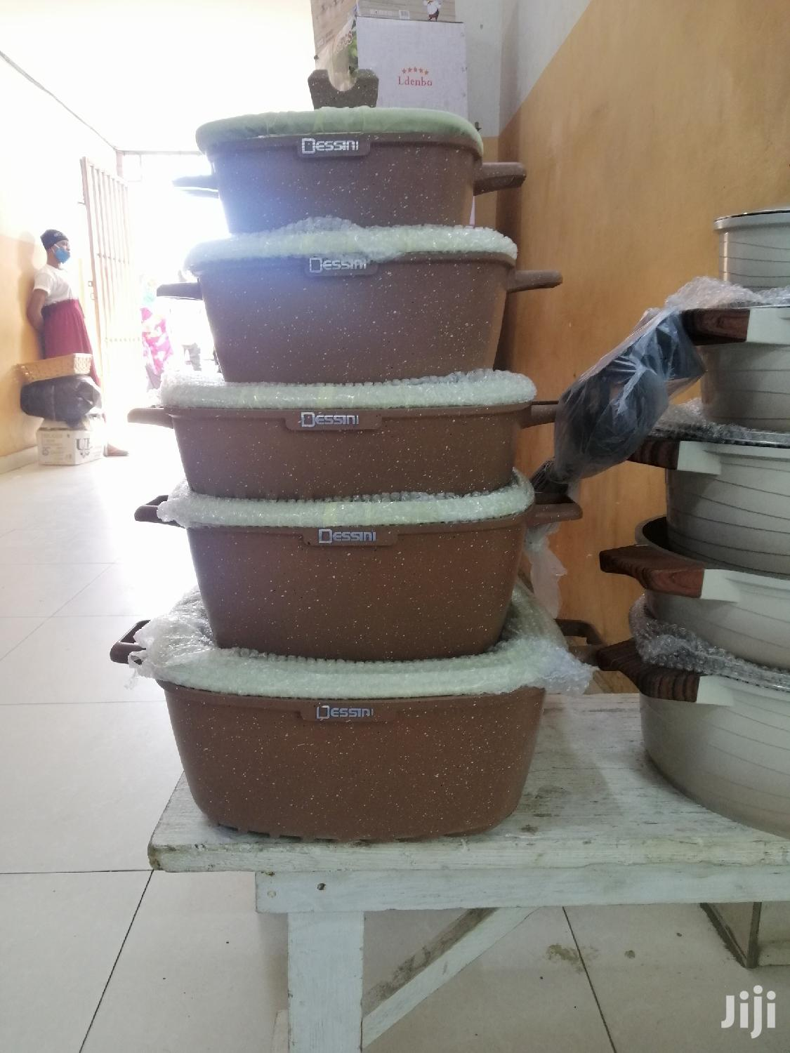 Dessini Non-stick Cooking Set | Kitchen & Dining for sale in Achimota, Greater Accra, Ghana