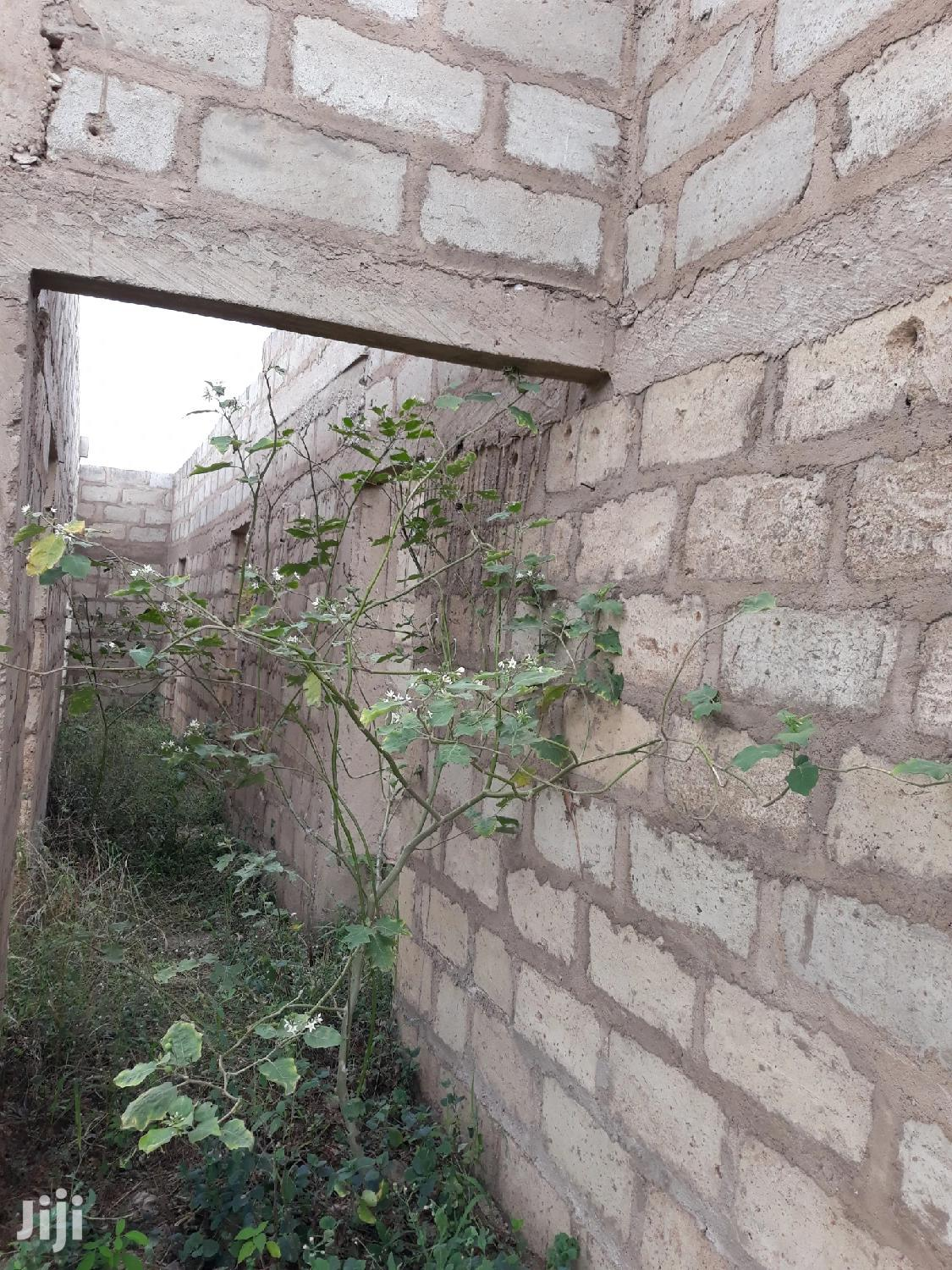3 Bedroom Uncompleted House For Sale At Kasoa.