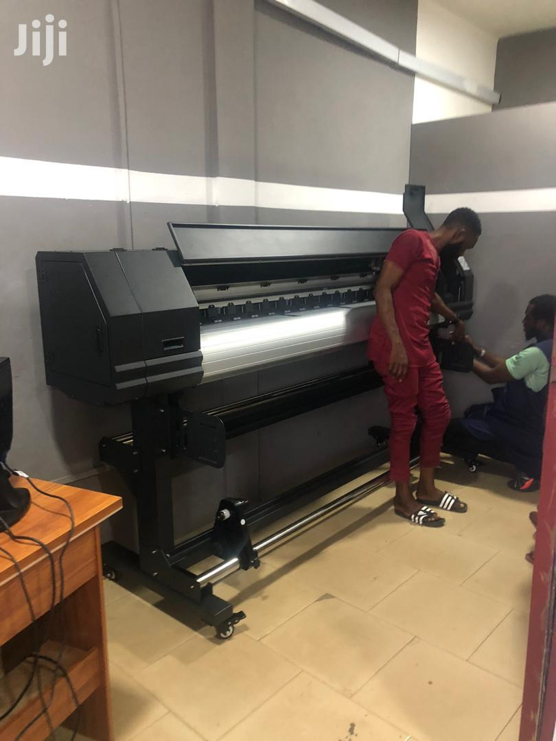 Large Format Eco Solvent Printer (6ft Brand New In Box) | Printing Services for sale in Achimota, Greater Accra, Ghana
