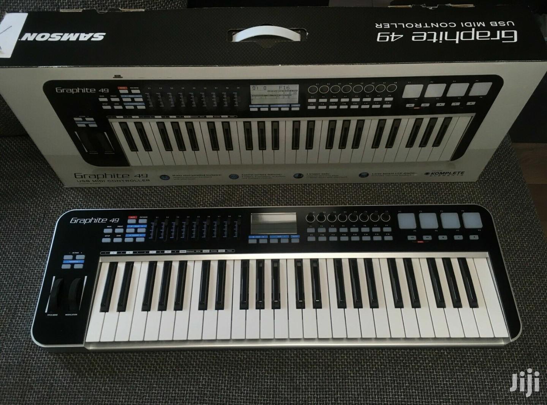 Archive: Samson Graphite 49 USB Midi Keyboard