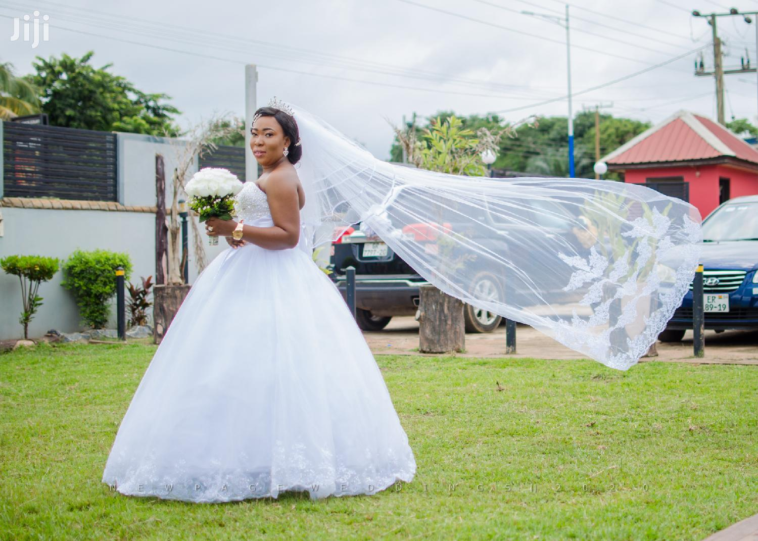 Gown, Veil,Understirk, Bouquet Combo   Wedding Wear & Accessories for sale in Madina, Greater Accra, Ghana