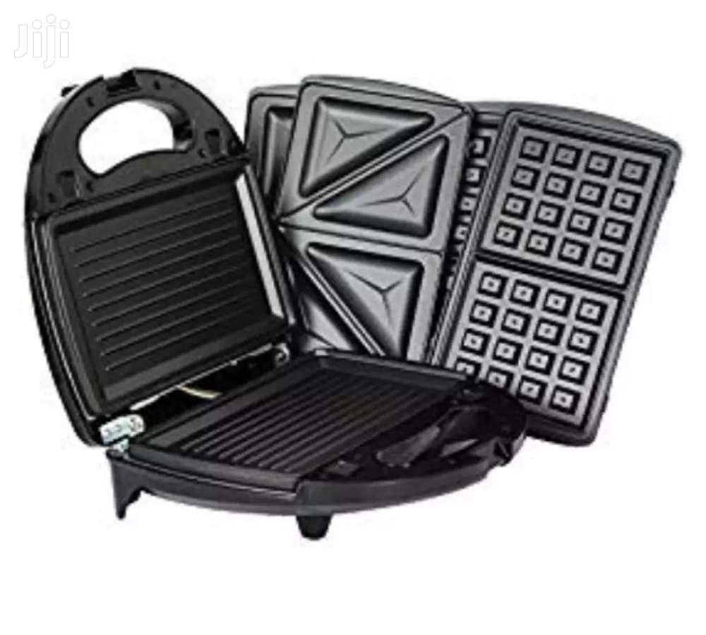 Waffle Maker 3 In 1