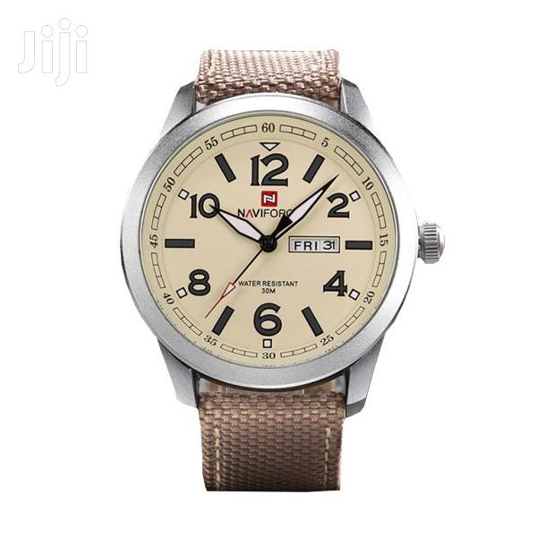 NAVIFORCE 9101 Luxury Business Casual Quartz Creative Watch | Watches for sale in Achimota, Greater Accra, Ghana