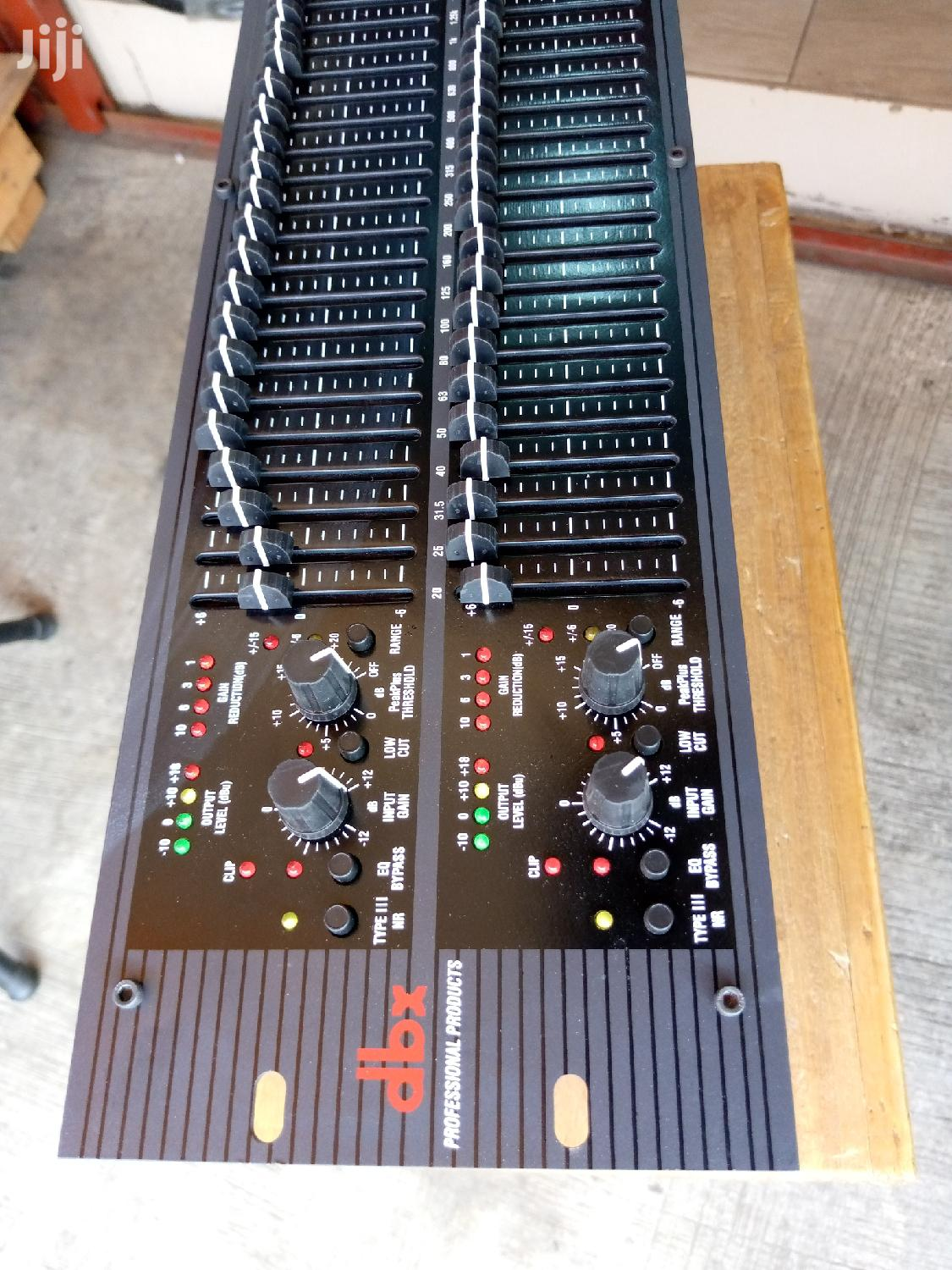 Dbx Double Equalizer
