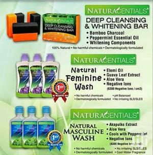 Natural Feminine & Masculine Wash