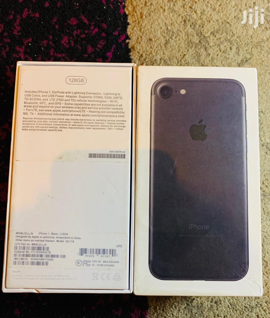 New Apple iPhone 7 128 GB Black | Mobile Phones for sale in Tema Metropolitan, Greater Accra, Ghana