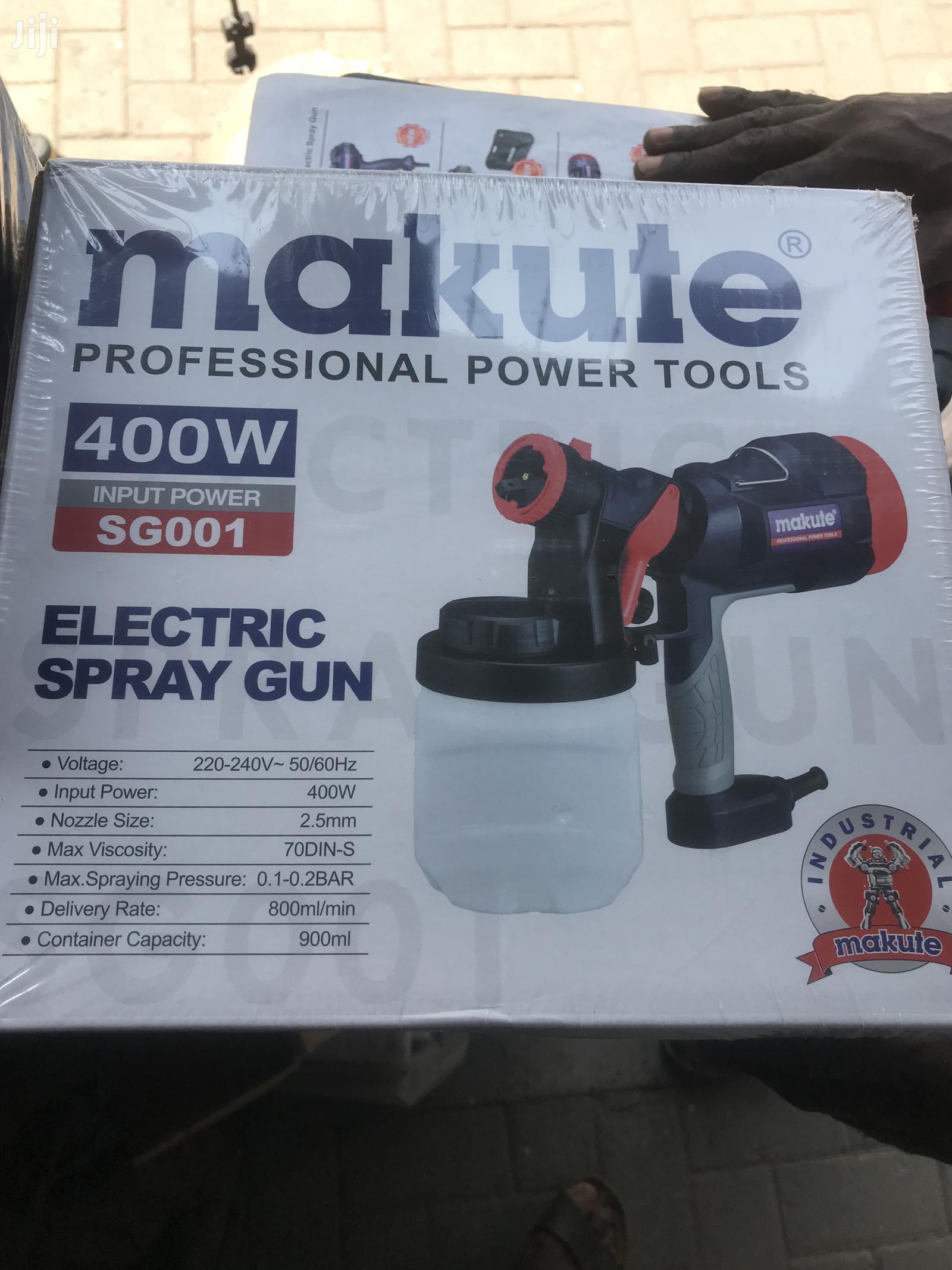 Makute Electronic Spraying Machine 400watts