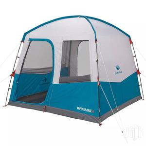 Day Tent With Arches Arpenaz Base M 6 People