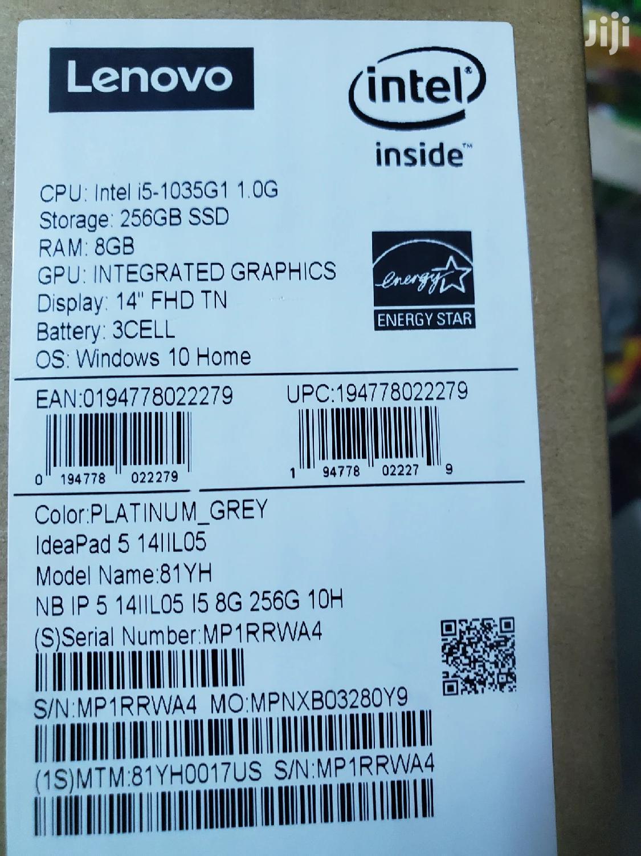 New Laptop Lenovo 8GB Intel Core I5 SSD 256GB