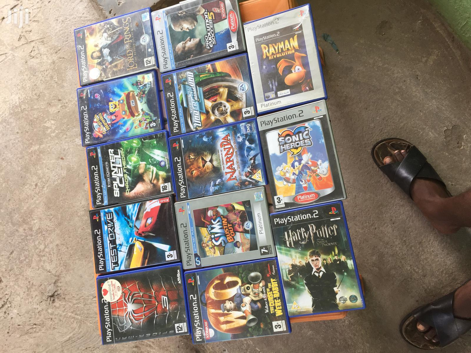 Playstation 2 Cedis From U.K in Stock | Video Games for sale in North Kaneshie, Greater Accra, Ghana