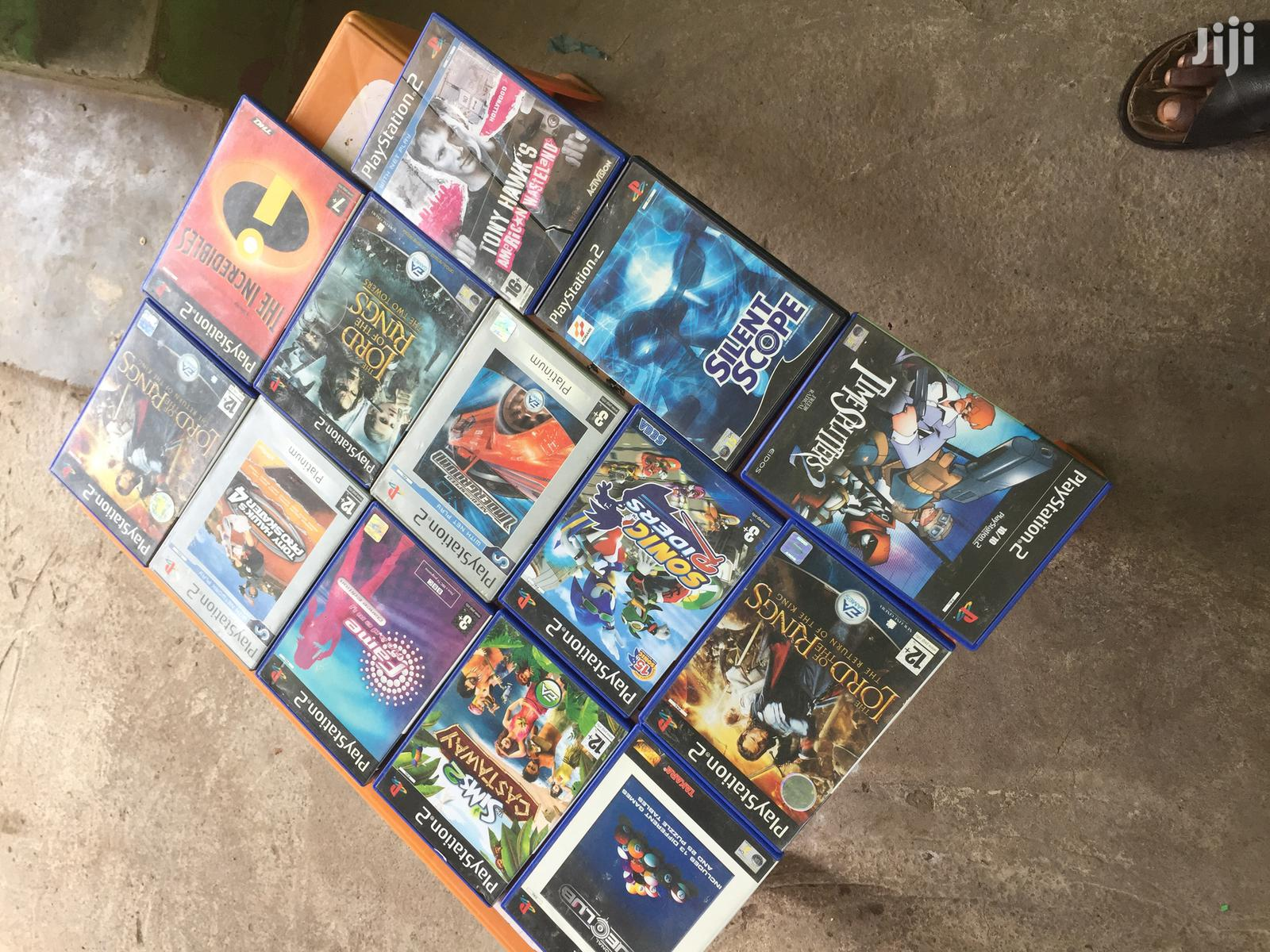 Playstation 2 Cedis From U.K in Stock