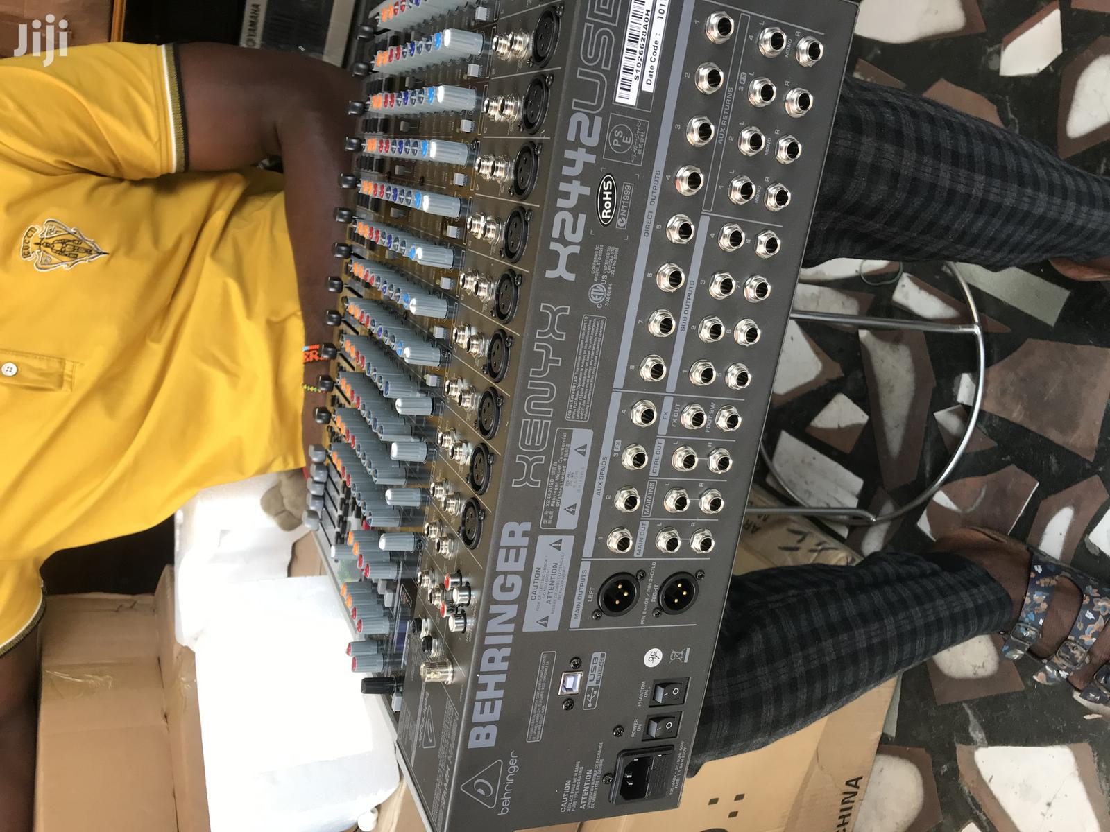 Behringer Studio Mixer Usb | Audio & Music Equipment for sale in Accra Metropolitan, Greater Accra, Ghana