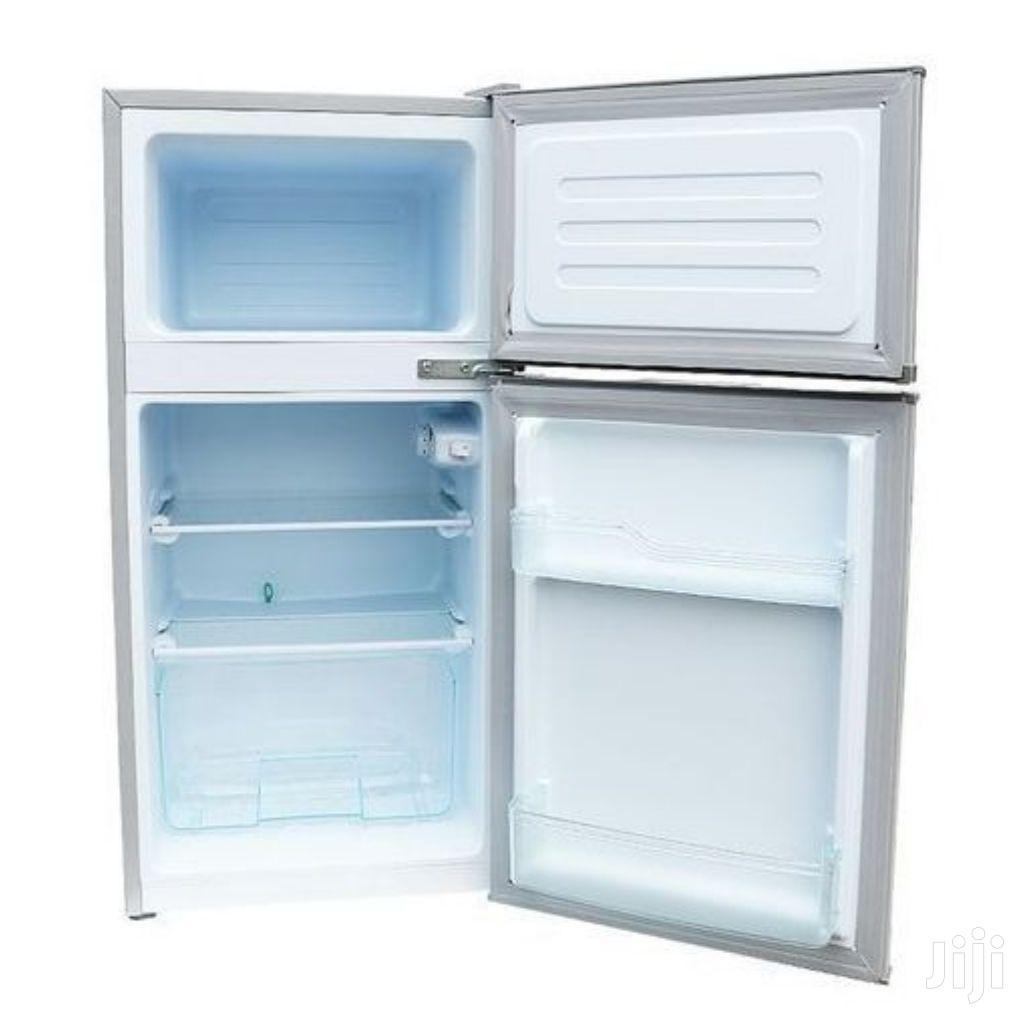 ICONA Double Door Refrigerator - 86 Litres Gol