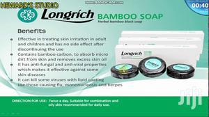 Long-Rich Bamboo Charcoal Soap for Sale | Bath & Body for sale in Greater Accra, Achimota