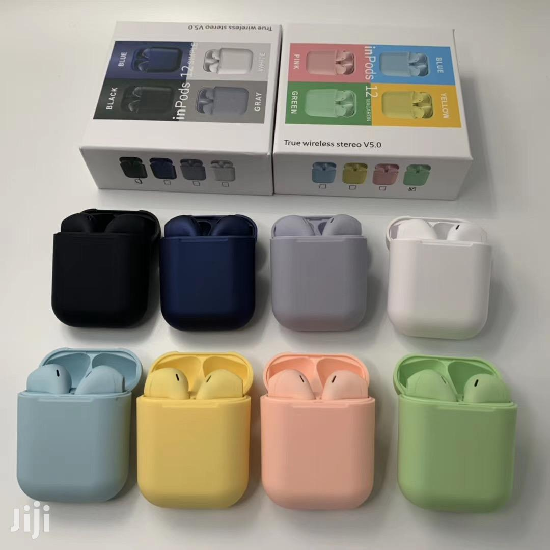 Tws Inpods I12 Color Edition Bluetooth Wireless Airpods