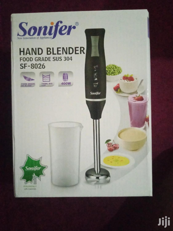 Stainless Steel Hand Blender