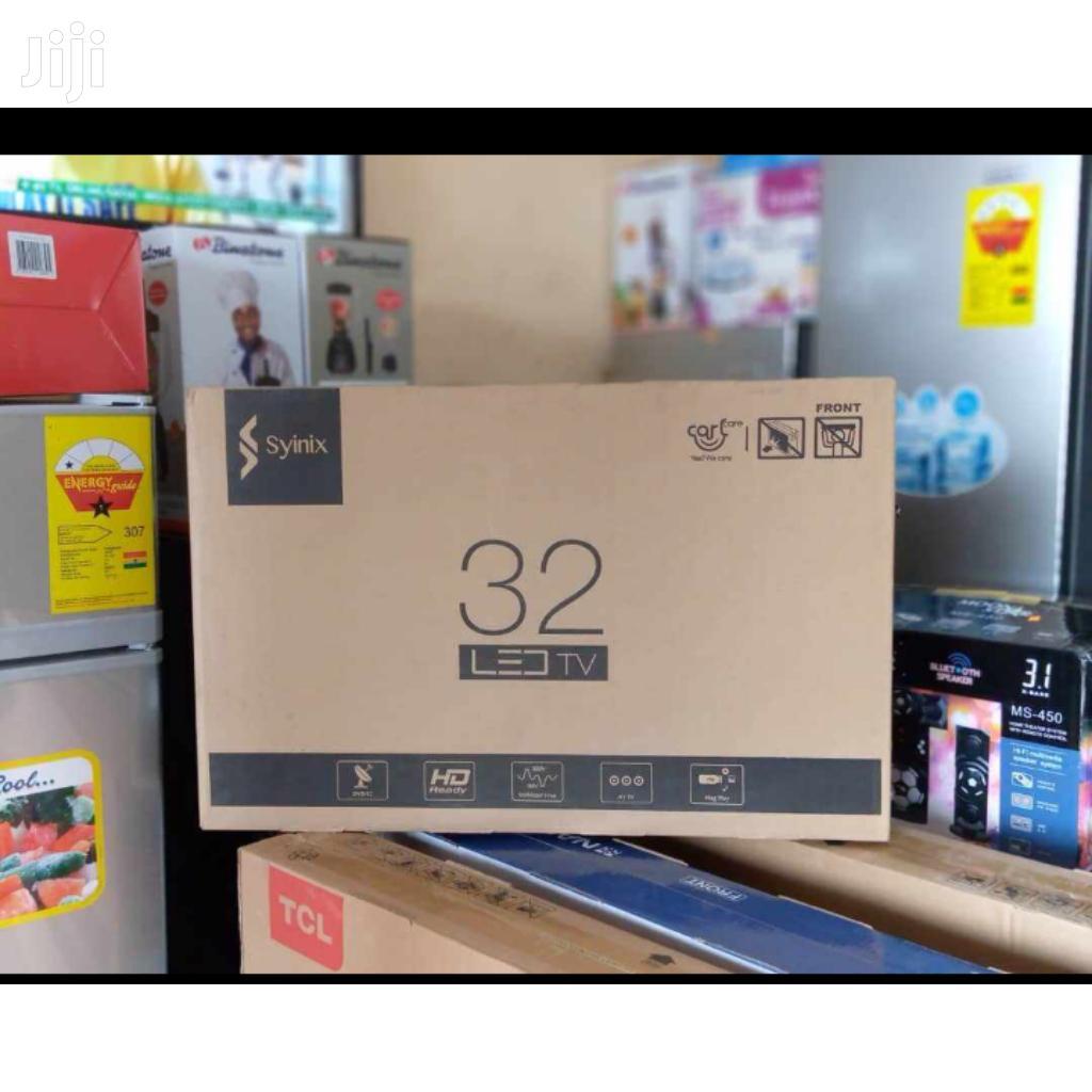 "Syinix 32"" HD Digital Satellite LED TV"