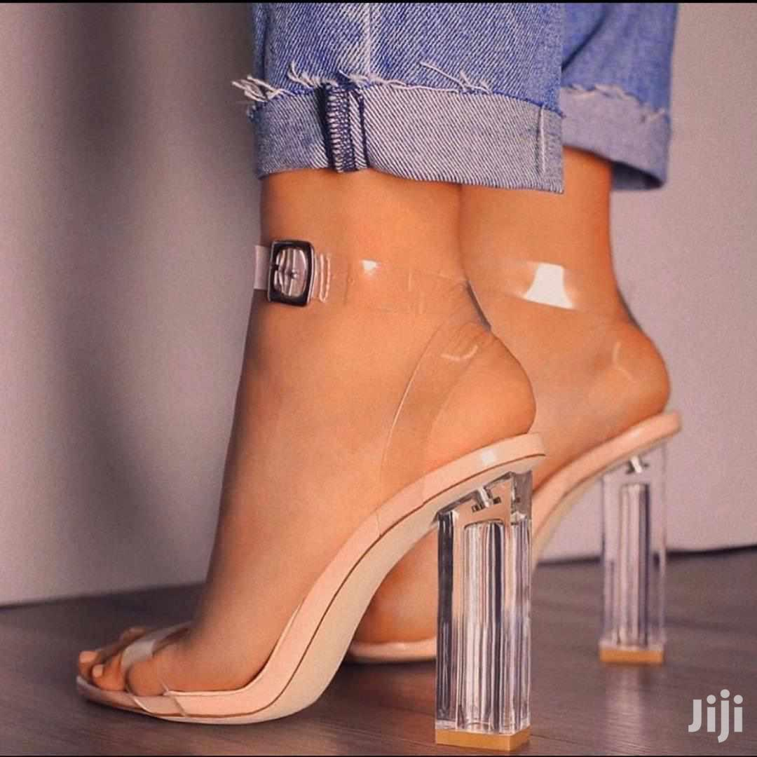 Quality Transparent Heels   Shoes for sale in Abura/Asebu/Kwamankese, Central Region, Ghana