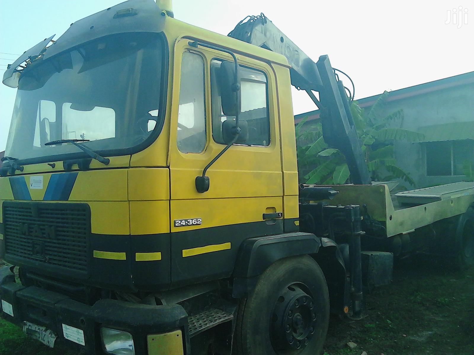 Archive: MAN Diesel Crane Winch Tow Truck for Sale
