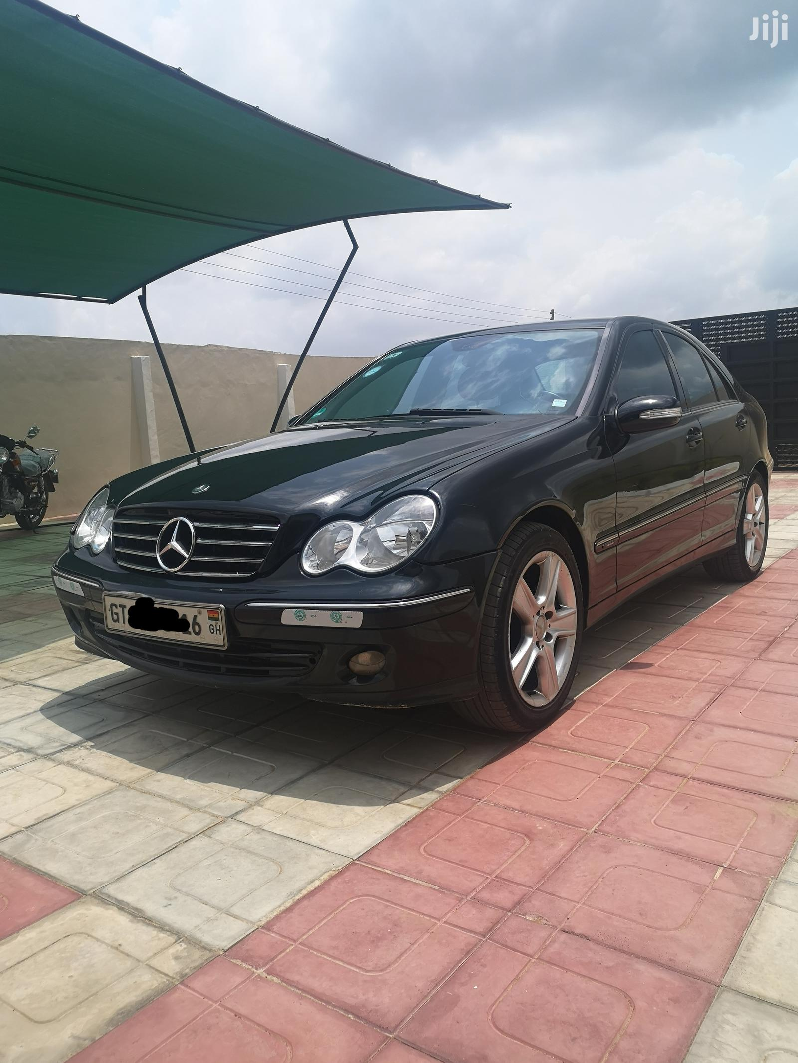 Mercedes-Benz C180 2006 Black | Cars for sale in Ga South Municipal, Greater Accra, Ghana