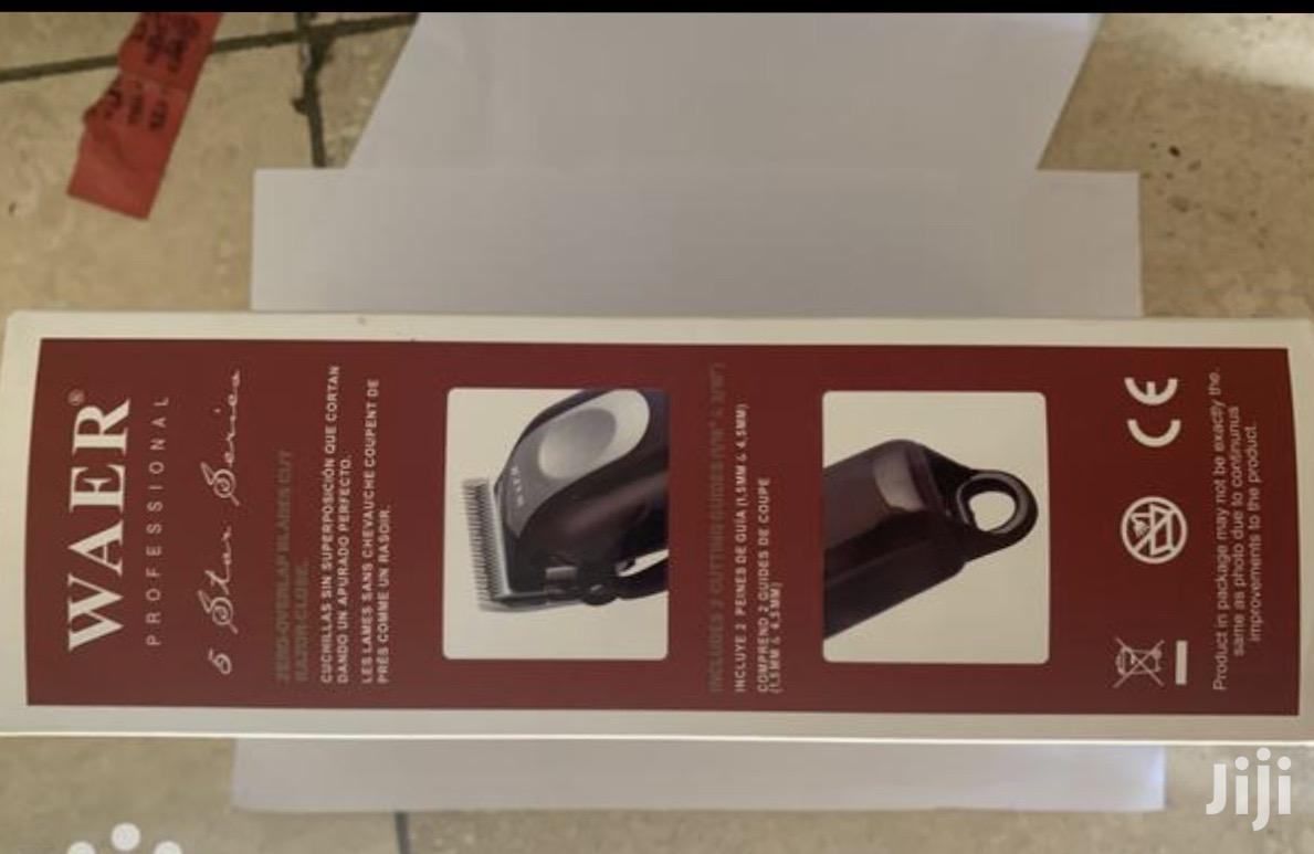 Waer Rechargeable Hair Clipper | Salon Equipment for sale in Accra Metropolitan, Greater Accra, Ghana