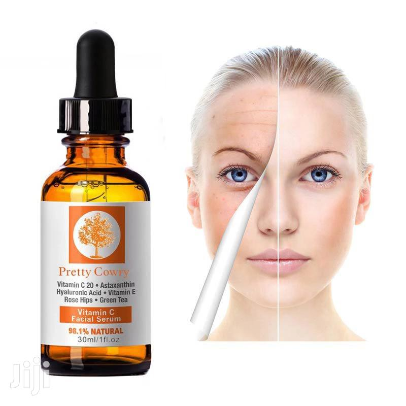 Pretty Cowry Vitamin C Serum | Skin Care for sale in Ga East Municipal, Greater Accra, Ghana