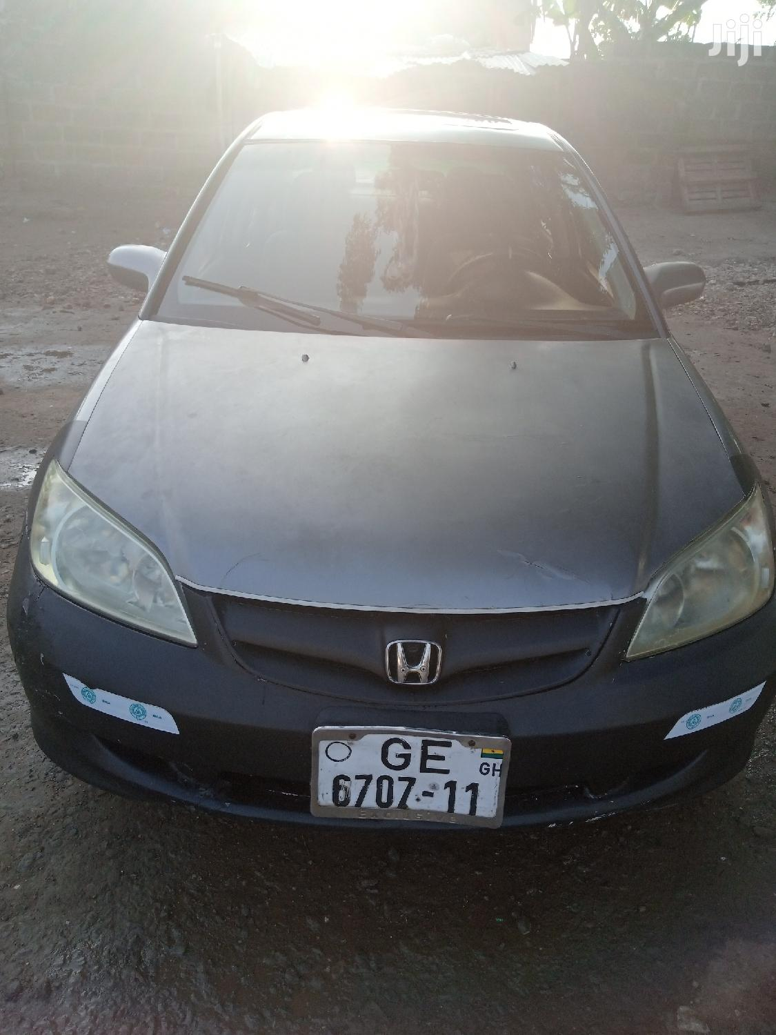 Honda Civic 1.7 CTDi ES 2005 Gray